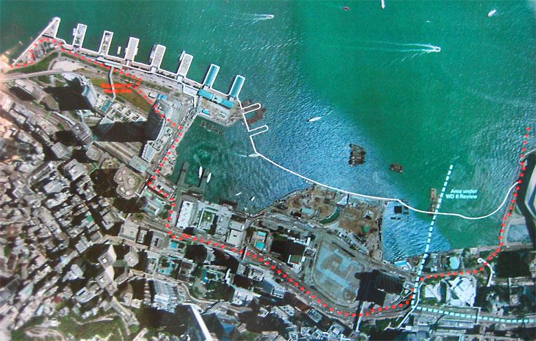 central waterfront of hong kong international urban